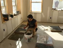 tile flooring ideas for kitchen flooring how to lay granite tile floor and befitting for placed