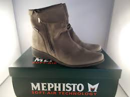 s boots size 9 mephisto seddy pewter greta handmade air s boots size