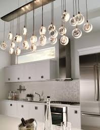 lights above kitchen island kitchen lighting idea the elongated shape of lbl lighting s in