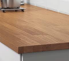 table de travail cuisine plan de travail cuisine sur mesure en bois ou stratifié ikea