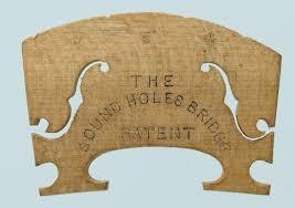 120 the sound hole bridge patent u2013 violin