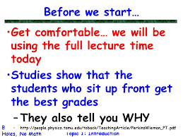 Get Comfortable Get Comfortable U2026 We Will Be Using The Full Lecture Time Today