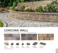 Unilock Brussels Block Patterns by Buy Unilock Concord Wall Xl South Shore Landscape Supply