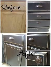 Painting Techniques For Kitchen Cabinets Furniture Distressing Diy Not About The Blue But