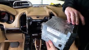 Porsche Cayenne 16 - 11 16 porsche cayenne vents u0026 radio disassembly removal