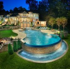 pools with waterfalls wet wild waterfalls for your pool dig this design