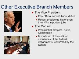 Cabinet President Chapter 11 The Presidency Ppt Download