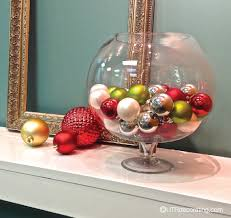speedy decorating idea festive glass bowl utr déco