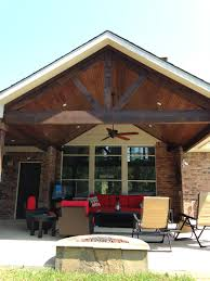 covered patio a frame stained cedar beams pools by mitchell