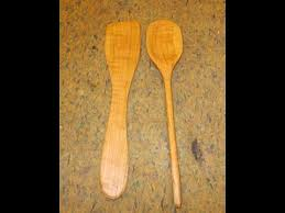 Best Wood For Carving Kitchen Utensils by Make Wooden Kitchen Utensils Youtube