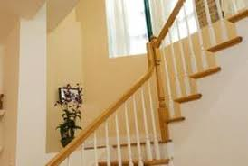 Wooden Banister Spindles How To Cut Laminate Flooring Around Stair Spindles Home Guides