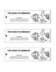 luke 24 road to emmaus bible bookmarks the road to emmaus is a