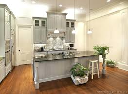 Grey Kitchen Cabinets With White Appliances Kitchen With Gray Cabinets U2013 Colorviewfinder Co