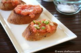 cuisine tomate pan con tomate recipe tomato on toast breakfasts chef