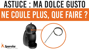 Piece Detachee Dolce Gusto by Astuce Ma Dolce Gusto Ne Coule Plus Que Faire Youtube