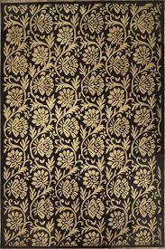 Black Gold Rug Floors U0026 Rugs Elegant Black With Pattern Gold For Luxury Living Room