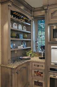 Antique Looking Kitchen Cabinets Gray Painted Kitchen Cabinets Old World Kitchen Cabinets With