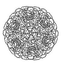coloriage mandala simple imprimer gratuit diy crafts