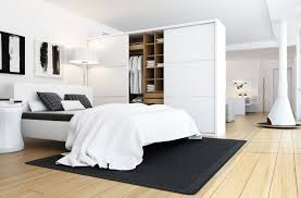 Black And White Bedroom Design Luxurious White Bedroom Design Black Accent Adorable Home