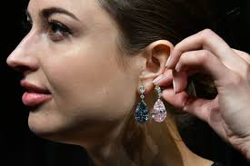 world s most expensive earrings diamond earrings expected to sell for 55 million them