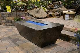 Firepit Patio Table by Patio Table With Propane Fire Pit Diy Gas Fire Pit Burner Patio
