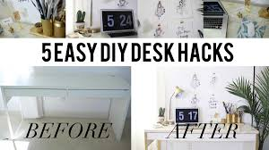 ikea marble desk hack u0026 easy office organizational diys u2013 ann le style