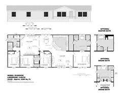 3 bedroom ranch floor plans large 3 bedroom 2 bath double wide