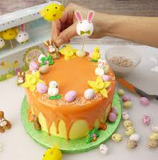 Easter Cake Decorations How To Make An U0027eggsquisite U0027 Easter Drip Cake Cake Craft World News