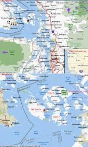 us map jpg san juan islands wa archipelago cycling in the u s northwest