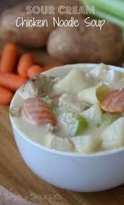 sour cream chicken noodle soup sugar n u0027 spice gals