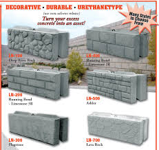 Leonard Marr Inc Block Forms Decorative Liners Wall