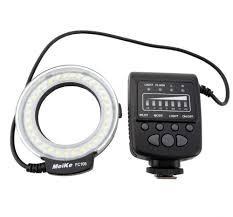 meike fc 100 fc100 manual led macro ring flash light with 7