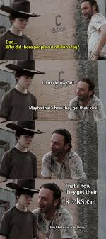 Meme Carl - hey carl 30 dead funny reasons why the classic walking dead