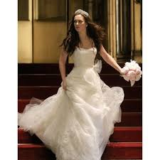 blair wedding dress blair waldorf wedding dress designed by vera wang polyvore