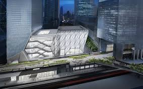 The Shed A New Futuristic Art Center To Open At Hudson Yards Gets