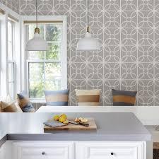kitchen wallpaper design brewster trellis grey montauk wallpaper fd23271 the home depot