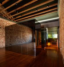 interior wonderful room design of lucky shophouse with dark brown