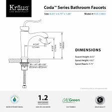 4 Inch Center Faucet Bathroom Faucet Kraususa Com