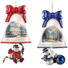 Glass Bell Christmas Ornaments - 134 best home for the holidays images on pinterest holidays set
