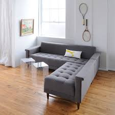 Gus Modern Spencer Sofa Harbord Loft Bi Sectional Sofa In Leaside Driftwood Design By Gus