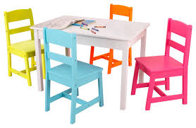 Child Table And Chair Kids Tables And Chairs Design Appealing Baby Chair And Table Set