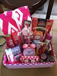 Gift Baskets Food Best 25 Teen Gift Baskets Ideas On Pinterest Baskets For Gifts