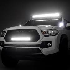 2017 tacoma light bar zroadz off road led light kits