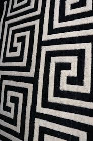 Black White Checkered Rug Black White Rug Great Looking Black And White Greek Key Carpet