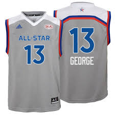 youth 2017 all pacers paul george gray eastern conference jersey