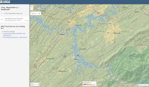 Utc Campus Map 2 6 Magnitude Quake Shakes Vonore Area Wbir Com