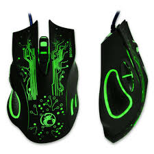 light up wireless gaming mouse 5500dpi 7 buttons led game mouse usb wired mice for alienware game