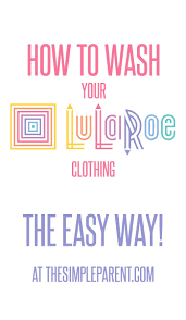 What Colors Do You Wash Together - how to wash lularoe in a few very easy steps