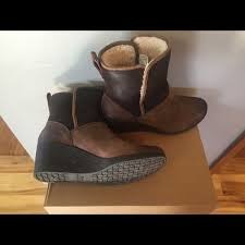 ugg renatta sale 50 ugg shoes ugg renatta waterproof wedge boots size 9 from