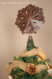rustic christmas tree 2012 megan brooke handmade